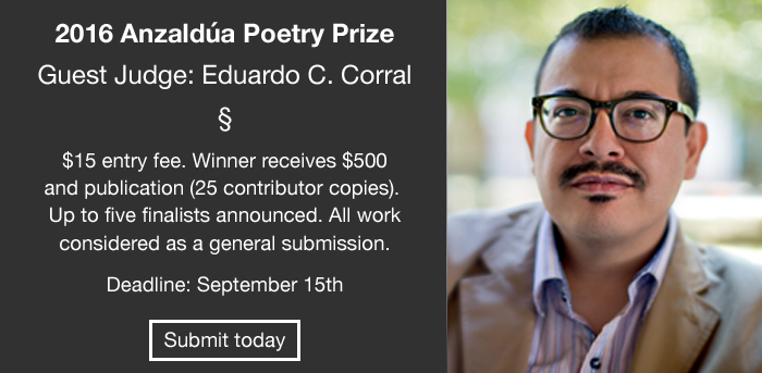 Anzaldua Poetry Prize