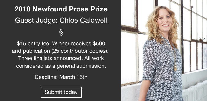 The Newfound Prose Prize