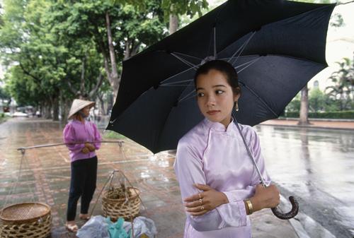 """""""Flower Seller, Hanoi,"""" 1995"""
