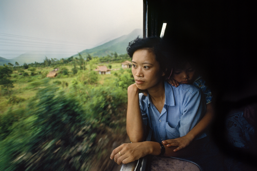 """Woman on the Train,"" 1990"