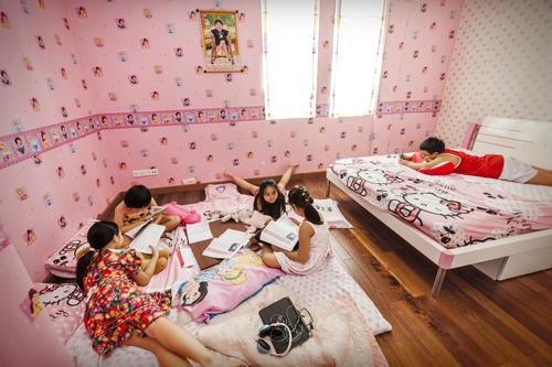 """Playdate, Saigon Suburbs,"" 2013"