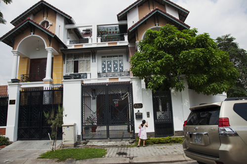 """Wealthy Home, Upscale Suburbs, Saigon,"" 2013"